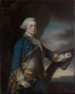 Harry Powlett, 6th Duke of Bolton - Portrait of Admiral Harry Paulet, 6th Duke of Bolton by Francis Cotes