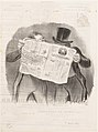 Advice to Subscribers, published in Le Charivari, April 1, 1840 MET DP156689.jpg