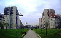 Residential neighborhoods of Aerodrom