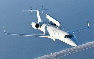 Embraer R-99 - Image: Aeronaves Ágata 7 FAB EMB145 Erieye