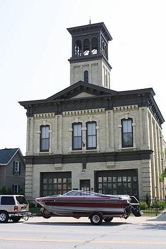 National Register of Historic Places listings in Fond du Lac County, Wisconsin - Image: Aetna Station 5US45