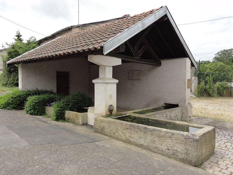Affracourt (M-et-M) lavoir