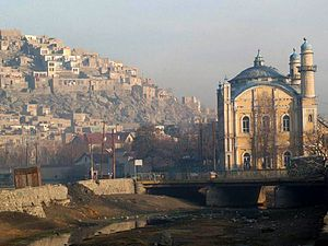 History of Arabs in Afghanistan - The Shah-Do Shamshira Mosque in Kabul