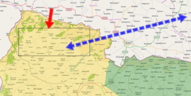Afrin offensive (2018) (within Northern Syria).png