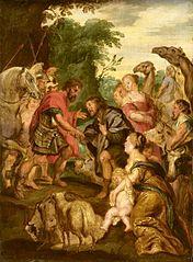 La Réconciliation de Jacob et Ésaü