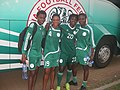 After training with my team mates in the National Camp Super Falcon in Abuja Nigeria.JPG