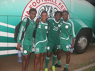 Nigeria womens national football team womens national association football team representing Nigeria