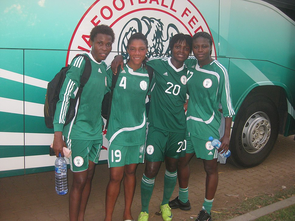 After training with my team mates in the National Camp Super Falcon in Abuja Nigeria