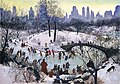 Agnes Tait, Skating in Central Park, 1934, Smithsonian American Art Museum.jpg
