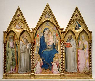 Agnolo Gaddi Italian early renaissance painter
