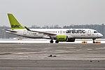 Air Baltic, YL-CSN, Airbus A220-300 (46611939372).jpg