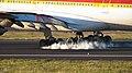 Airbus 340-600 EC-IZX de Iberia landing in Los Rodeos airport.jpg