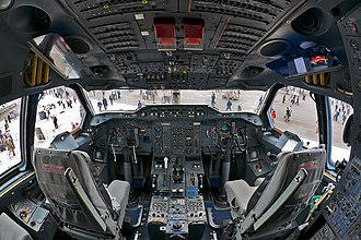 Airbus A300 - An Airbus A300 Flight Deck