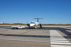Airnorth - Airnorth Embraer EMB 120 Brasilia at Darwin International Airport during the dry season.