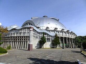 CNA Arena Akita - Image: Akita Municipal Gymnasium 20111014a