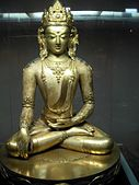 Statue of Akshobhya in the Zanabazar Museum of Fine Arts