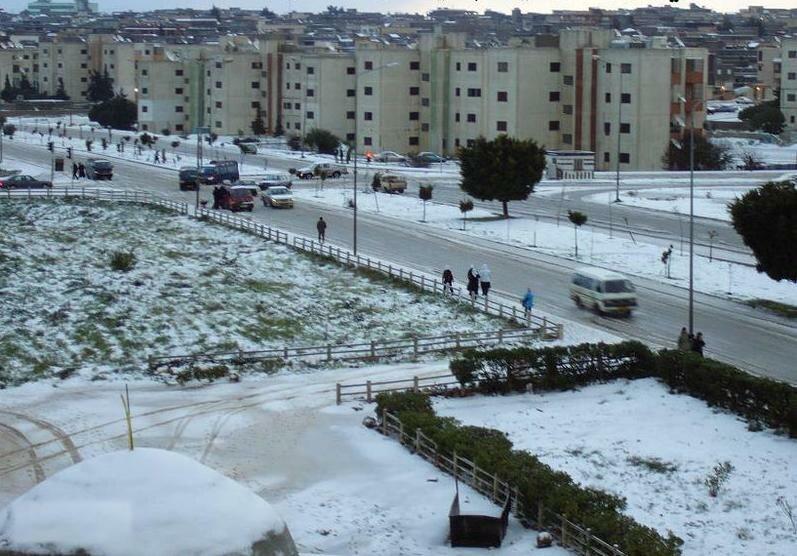 Al Bayda snow (2)