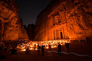Petra - Petra at night
