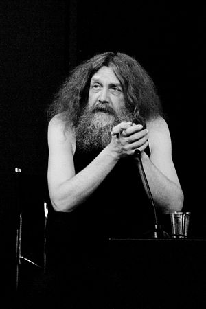 Alan Moore - Alan Moore at the Institute of Contemporary Arts in 2009