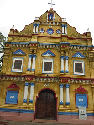 Palliveettil Mar Chandy - St. Mary's Syro-Malabar Church, Alangad
