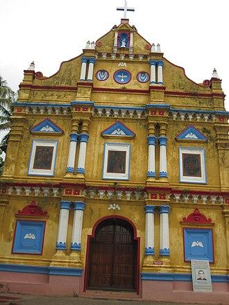 Palliveettil Mar Chandy - St. Mary's Syro-Malabar Church, Alangad