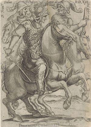 Cristóbal de la Cerda y Sotomayor - Image: Alava Osores y De la Cerda