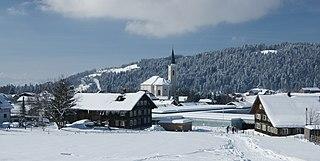 Alberschwende Place in Vorarlberg, Austria