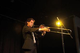 JazzFest Berlin - Nils Wogram, Albert Mangelsdorff Preis winner, 2013