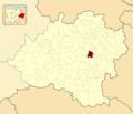 Aldealafuente in Soria Province locator.png
