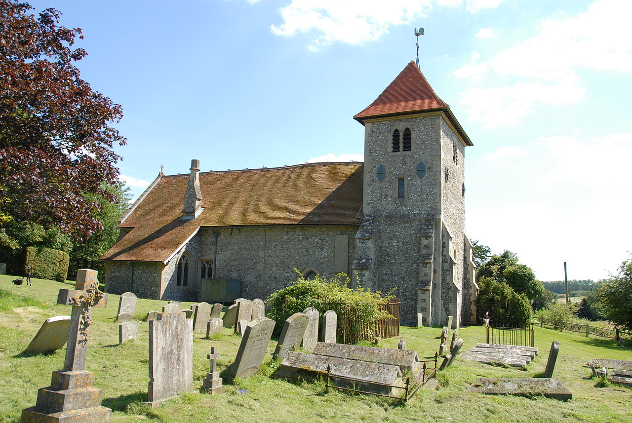 Aldworth Church by Philip Hind. This file is licensed under the Creative Commons Attribution 2.0 Generic license.