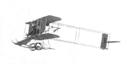 Alec Ogilvie's Wright Model R in flight at the Eastchurch Gordon Bennett Trophy, 1911.png