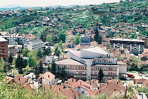 Aleksandrovac - View on city of Aleksandrovac