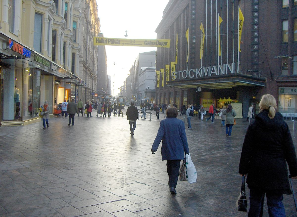 Aleksanterinkatu Helsinki