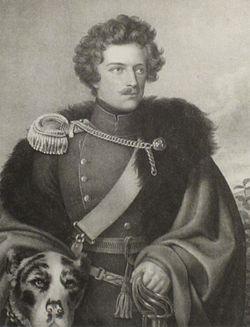 Alexander von Württemberg mit Hund.jpg