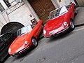 Alfa-Romeo 1600 Spider (1967) & 2000 Spider 2000 (1975) (34354609701).jpg