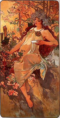 Autumn - 1896 - Alphonse Mucha
