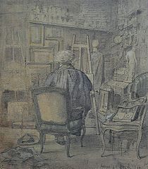 Corot in the workshop of Dutilleux