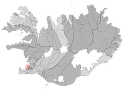 Location of the Municipality of Álftanes