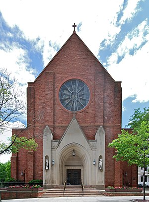 Cathedral of All Saints (Albany, New York) - Image: All Saints Cathedral Front