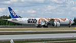 All Nippon Airways (Star Wars - BB-8 livery) Boeing 777-300ER (JA789A) at Frankfurt Airport (17).jpg