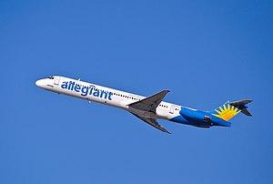 Springfield metropolitan area, Missouri - Allegiant Air flight departing from Springfield