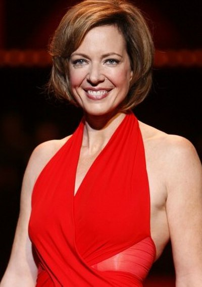 Allison Janney, American actress and singer