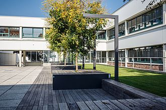 University of Klagenfurt - Courtyard between the Central Wing and the North Wing