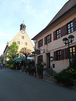 Alter Kirchplatz 4 und 6 (Altes Spital und Alte Kirche) Stein (Landkreis Fürth)