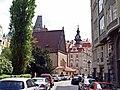 Altneu-Synagoge mit dem alten jüdischen Rathaus, Josefov, Praha, Prague, Prag - panoramio.jpg