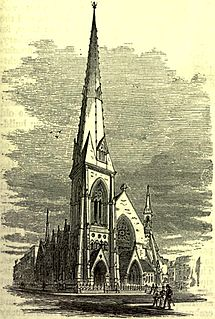 St. Nicholas Collegiate Reformed Protestant Dutch Church church building in Manhattan, United States of America