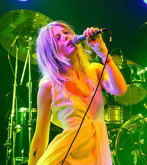 Amalie Bruun - Bruun performing with Myrkur at Roskilde Festival 2015 in Denmark
