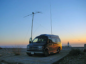 Amateur radio station - An amateur mobile radio station.
