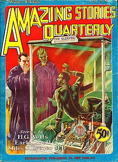 <i>Amazing Stories Quarterly</i> U.S. science fiction pulp magazine