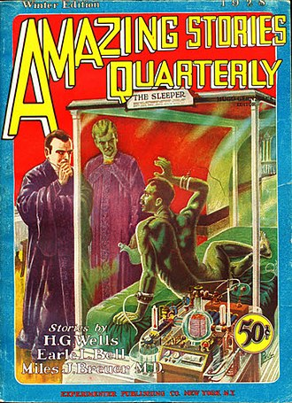 Amazing Stories Quarterly - Image: Amazing stories quarterly 1928win